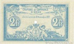 2 Francs FRANCE régionalisme et divers ORAN 1915 JP.141.16 pr.NEUF