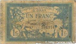 1 Franc FRANCE régionalisme et divers Oran 1915 JP.141.20 AB