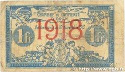 1 Franc FRANCE régionalisme et divers ORAN 1915 JP.141.20 B+