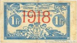 1 Franc FRANCE régionalisme et divers ORAN 1915 JP.141.20 TB
