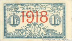 1 Franc FRANCE régionalisme et divers ORAN 1915 JP.141.20 TTB