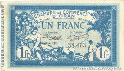 1 Franc FRANCE régionalisme et divers ORAN 1915 JP.141.20 SUP+