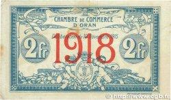 2 Francs FRANCE régionalisme et divers ORAN 1915 JP.141.21 TTB