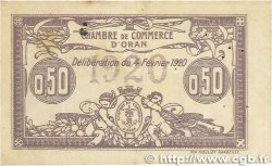 50 Centimes FRANCE régionalisme et divers ORAN 1920 JP.141.22 pr.TTB