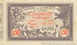 50 Centimes FRANCE régionalisme et divers Oran 1920 JP.141.22 TTB