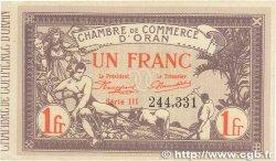 1 Franc FRANCE régionalisme et divers Oran 1920 JP.141.23 TTB+