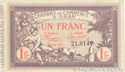 1 Franc FRANCE régionalisme et divers Oran 1920 JP.141.23 SUP+
