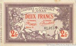 2 Francs FRANCE régionalisme et divers Oran 1920 JP.141.24 TTB+