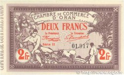 2 Francs FRANCE régionalisme et divers ORAN 1920 JP.141.24 NEUF