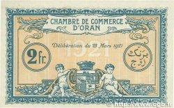 2 Francs FRANCE régionalisme et divers ORAN 1921 JP.141.29 SPL+