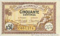50 Centimes FRANCE régionalisme et divers Oran 1922 JP.141.31 TTB