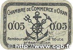 5 Centimes FRANCE régionalisme et divers Oran 1916 JP.141.46 SUP+