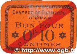 10 Centimes FRANCE régionalisme et divers Oran 1916 JP.141.49 SPL