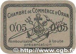 5 Centimes FRANCE régionalisme et divers ORAN 1918 JP.141.52 pr.NEUF