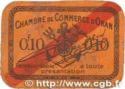 10 Centimes FRANCE régionalisme et divers ORAN 1918 JP.141.53 TB