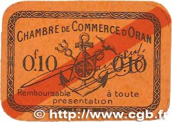 10 Centimes FRANCE régionalisme et divers ORAN 1918 JP.141.53