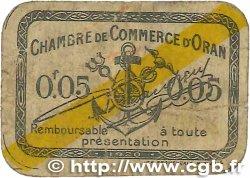 5 Centimes FRANCE régionalisme et divers ORAN 1920 JP.141.56 B