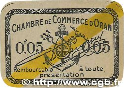 5 Centimes FRANCE régionalisme et divers ORAN 1920 JP.141.56 pr.NEUF