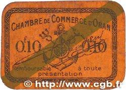 10 Centimes FRANCE régionalisme et divers Oran 1920 JP.141.57 TB