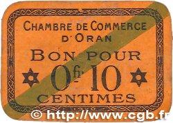 10 Centimes FRANCE régionalisme et divers Oran 1920 JP.141.57 TTB