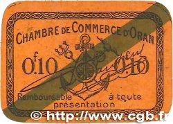 10 Centimes FRANCE régionalisme et divers Oran 1920 JP.141.57 SUP