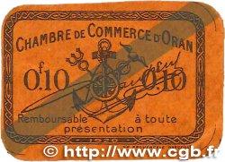 10 Centimes FRANCE régionalisme et divers Oran 1920 JP.141.57 SPL