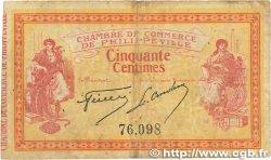 50 Centimes FRANCE régionalisme et divers PHILIPPEVILLE 1914 JP.142.01 B+