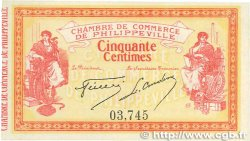 50 Centimes FRANCE régionalisme et divers Philippeville 1914 JP.142.01 SPL+