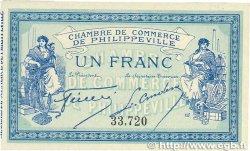 1 Franc FRANCE régionalisme et divers Philippeville 1914 JP.142.02 SUP+
