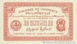 50 Centimes FRANCE régionalisme et divers Philippeville 1914 JP.142.03 SPL