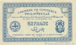 1 Franc FRANCE régionalisme et divers Philippeville 1914 JP.142.04 SUP