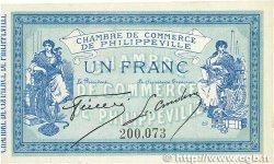 1 Franc FRANCE régionalisme et divers PHILIPPEVILLE 1914 JP.142.04 pr.NEUF