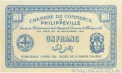 1 Franc FRANCE régionalisme et divers Philippeville 1914 JP.142.04 NEUF