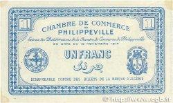 1 Franc FRANCE régionalisme et divers Philippeville 1914 JP.142.06 pr.SPL