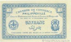 1 Franc FRANCE régionalisme et divers Philippeville 1914 JP.142.07 NEUF