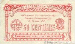 50 Centimes FRANCE régionalisme et divers PHILIPPEVILLE 1917 JP.142.08 pr.TTB