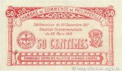 50 Centimes FRANCE régionalisme et divers PHILIPPEVILLE 1917 JP.142.08 TTB