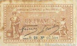 1 Franc FRANCE régionalisme et divers Philippeville 1917 JP.142.09 B