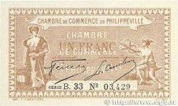 1 Franc FRANCE régionalisme et divers PHILIPPEVILLE 1917 JP.142.09 pr.NEUF