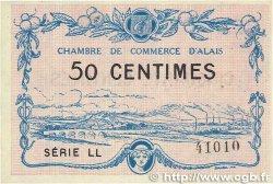 50 Centimes FRANCE régionalisme et divers ALAIS (nom actuel :  ALÈS) 1916 JP.004.07 pr.NEUF
