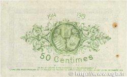50 Centimes FRANCE régionalisme et divers  1914 JP.005.01var. SUP