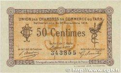 50 Centimes FRANCE régionalisme et divers Albi - Castres - Mazamet 1914 JP.005.01 pr.SPL