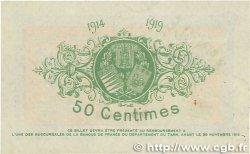 50 Centimes FRANCE régionalisme et divers ALBI - CASTRES - MAZAMET 1914 JP.005.02 SUP