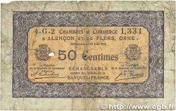 50 Centimes FRANCE régionalisme et divers ALENCON et FLERS 1915 JP.006.39 B