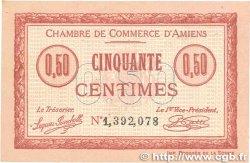 50 Centimes FRANCE régionalisme et divers AMIENS 1915 JP.007.32 SUP