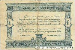 25 Centimes FRANCE régionalisme et divers ANGERS 1917 JP.008.04 TB