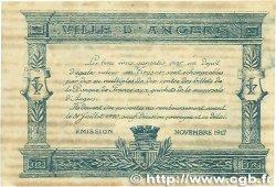 25 Centimes FRANCE régionalisme et divers ANGERS 1917 JP.008.04 TTB