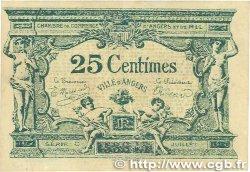 25 Centimes FRANCE régionalisme et divers Angers 1917 JP.008.04 SUP