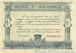 25 Centimes FRANCE régionalisme et divers Angers 1917 JP.008.04 SUP+