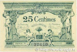 25 Centimes FRANCE régionalisme et divers ANGERS 1917 JP.008.04 NEUF